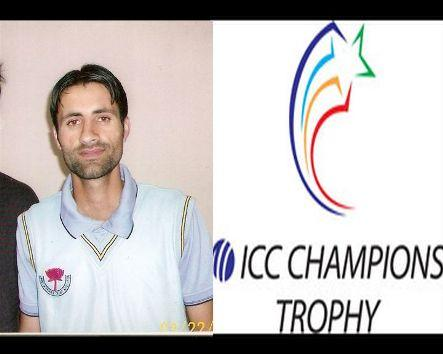 First cricketer from Kashmir to play in ICC champion