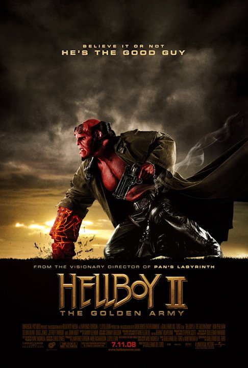 Poster Hellboy II: The Golden Army Production Universal 2008