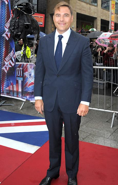 Britain's Got Talent photos: David Walliams looks pleased as punch to have scored a seat on the judging panel.
