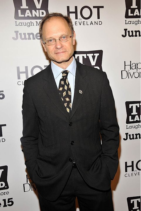 David Hyde Pierce Hot In Cleveland Prty