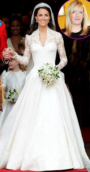 "Sarah Burton Feels ""Incredibly Privileged"" About Designing Kate Middleton's Wedding Dress"
