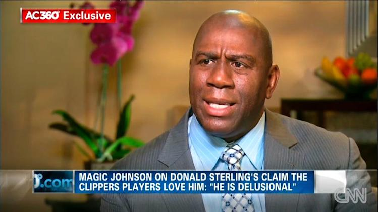 Johnson says Clippers owner living in 'stone ages'