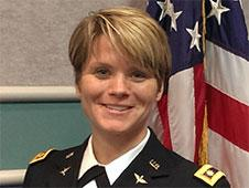 This photo provided by NASA shows Anne C. McClain. NASA has eight new astronauts _ its first new batch in four years. McClain is one of the candidates. McClain, 34, Major, U.S. Army, lists her hometown as Spokane, Wash. She is a graduate of the U.S. Military Academy at West Point, N.Y.; the University of Bath and the University of Bristol, both in the United Kingdom. McClain is an OH-58 helicopter pilot, and a recent graduate of U.S. Naval Test Pilot School at Naval Air Station, Patuxent River. (AP Photo/NASA)