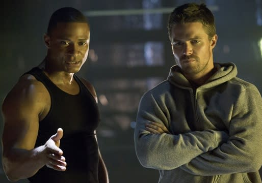 Arrow's David Ramsey on How Diggle Knowing Oliver's Secret 'Elevates the Show'