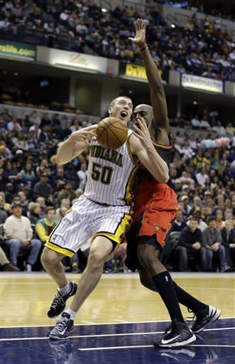Short-handed Pacers hold off Hawks 100-94