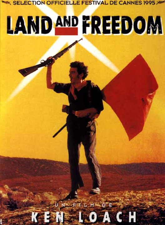Land and freedom, de Ken Loach (1994) Le top 5 de Philippe Poutou