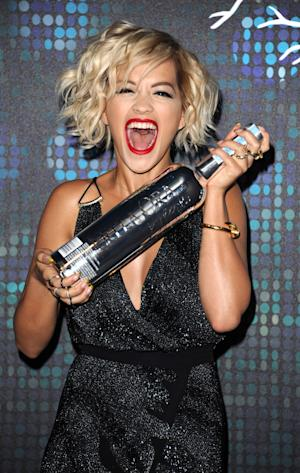 Rita Ora seen at a party during the 67th international film festival, Cannes, southern France, Friday, May 16, 2014. (Photo by James McCauley/Invision/AP)