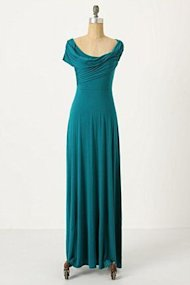 irresistible dress teal long