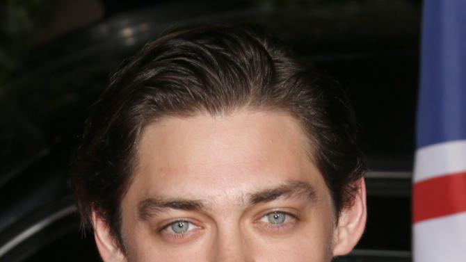 Tom Payne attends the Topshop Topman LA Opening Party At Cecconi's in Los Angeles, on Wednesday, Feb. 13, 2013 in Los Angeles. (Photo by Todd Williamson/Invision for/AP)