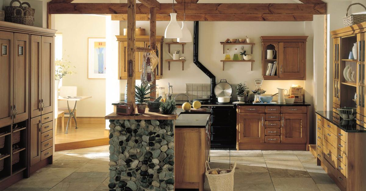 24 Stunning Country Kitchen Designs