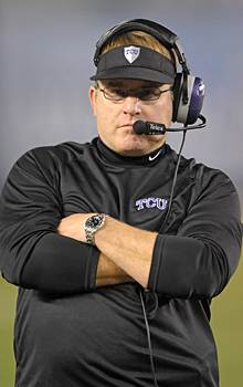 Despite its move to the Big 12, TCU not in a celebratory mood as it opens spring practice