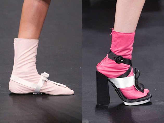 Prada Leather Tabi and Platform Overshoes, S/S 2013