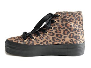 Leopard Strike Sneakers