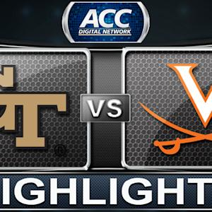 Georgia Tech vs Virginia | 2013 ACC Football Highlights