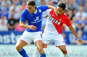 Leicester City 0-3 Monaco: Falcao on target in low-key win
