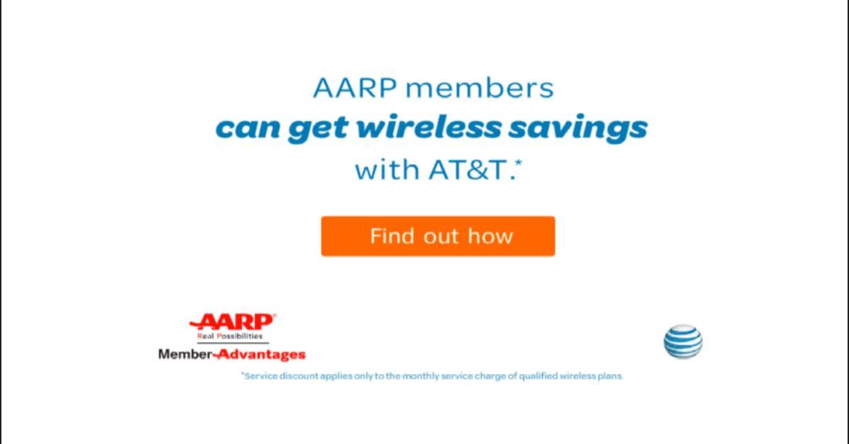 AT&T AARP Member Discount