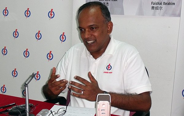 Law and Foreign Affairs Minister K. Shanmugam was one of the two ministers who continued to drive home the need for an inclusive, gracious society following Prime Minister Lee Hsien Loong&#39;s National Day Rally speech. (Yahoo! file photo)