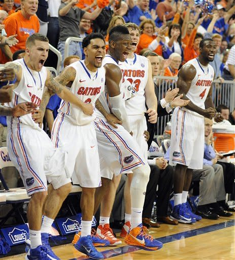 No. 10 Florida thumps No. 17 Missouri 83-52