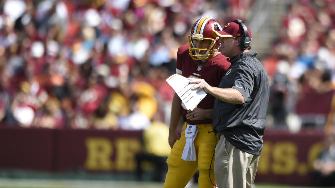 Different feel this time for Redskins' Cousins