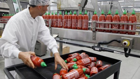 Sriracha Hot Sauce Officially Declared a Public Nuisance in California