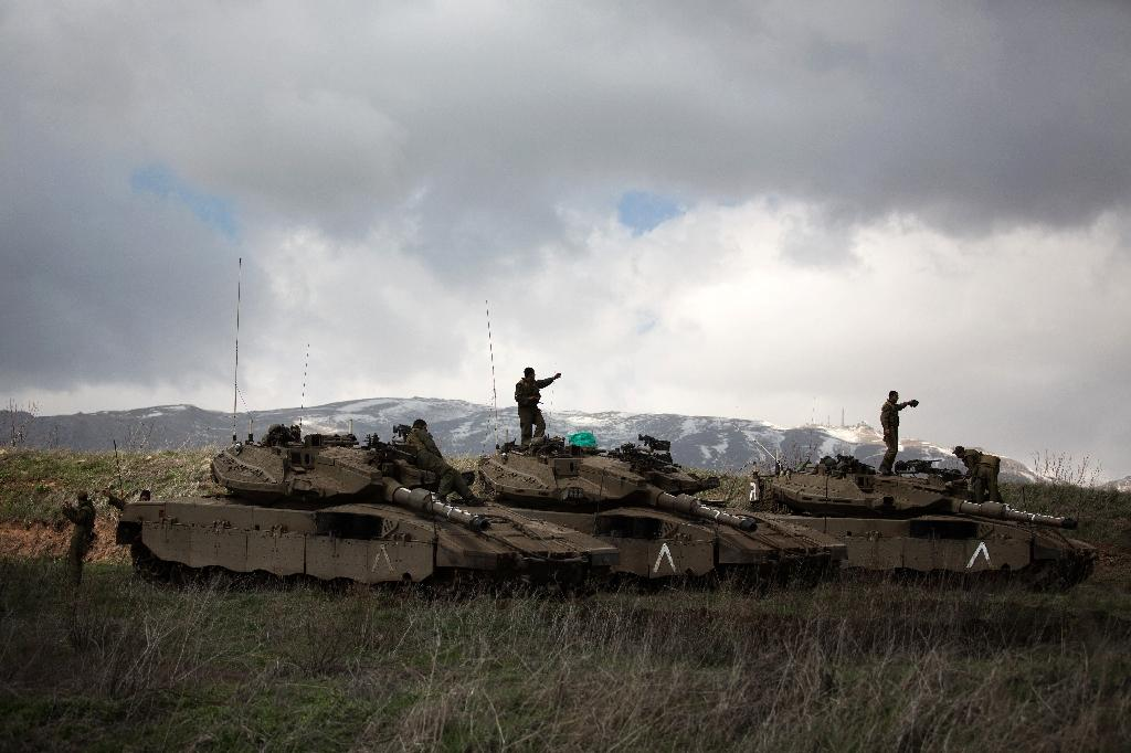 Israel army kills four men on Syria border: security source