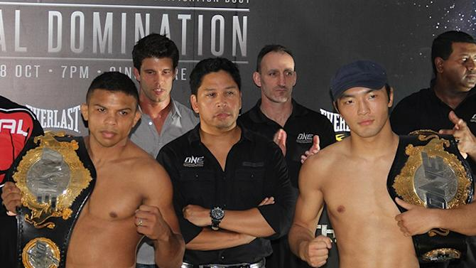 ONE FC Total Domination Weigh-in Results: Title Fight Set, Shinya Aoki Makes Featherweight