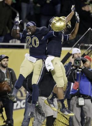 No. 9 Notre Dame runs over Miami 41-3