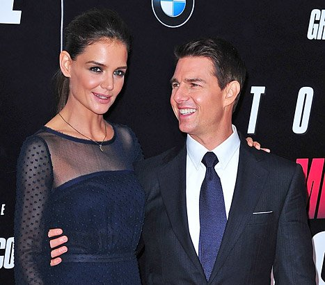 Tom Cruise Two Weeks Before Split: I'm Very Lucky To Be Married to Katie Holmes