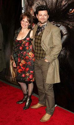 Lorraine Ashbourne and Andy Serkis at the New York premiere of Universal Pictures' King Kong