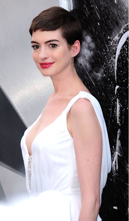 "Anne Hathaway,  ""The Dark Knight Rises"" World Premiere - Outside Arrivals New York City, USA - 17.07.12 Mandatory Credit: Dan Jackman/WENN.com"