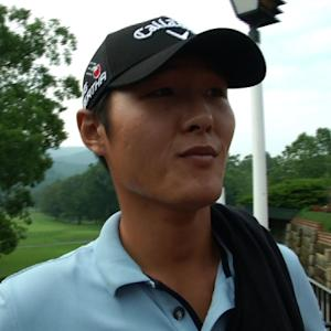 Danny Lee interview after Round 1 of The Greenbrier