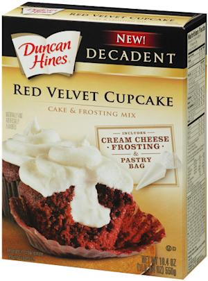 Consumers Vote Duncan Hines Decadent Red Velvet Cupcakes 2014 Product of the Year