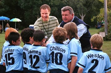 Will Ferrell and Mike Ditka in Universal Pictures' Kicking & Screaming