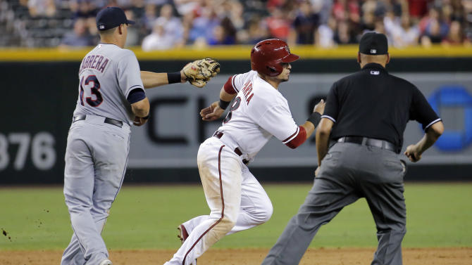 Hill's RBI gives Arizona 9-8 win in 14 innings