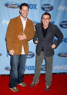 MADtv's Ike Barinholtz and Ron Pederson American Idol Top 12 Finalists Party West Hollywood, CA - 3/9/05 Ike Barinholtz