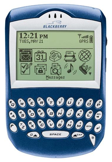 In 2003, RIM introduced the first BlackBerry, the Quark 6210.