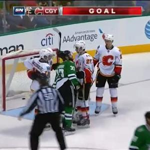 Jiri Hudler Goal on Kari Lehtonen (09:25/2nd)