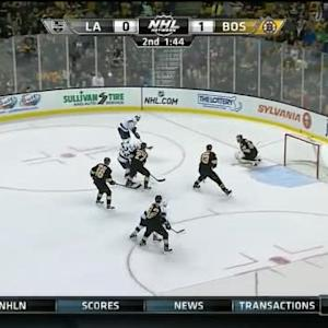 Tuukka Rask Save on Jake Muzzin (18:18/2nd)
