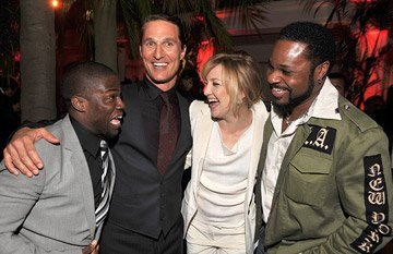 Kevin Hart , Matthew McConaughey , Kate Hudson and Malcolm Jamal Warner at the Hollywood premiere of Warner Bros. Pictures' Fool's Gold