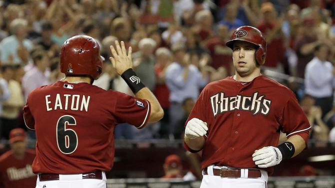 Goldschmidt, D-Backs deny Dodgers clincher 9-4