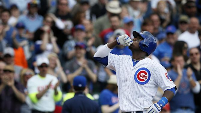 Lake, Rizzo homer; Cubs beat Cardinals 3-0