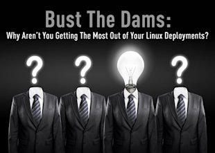 Bust the Dams: Why Aren't You Getting the Most Out of Your Linux Deployments? image bust the dams