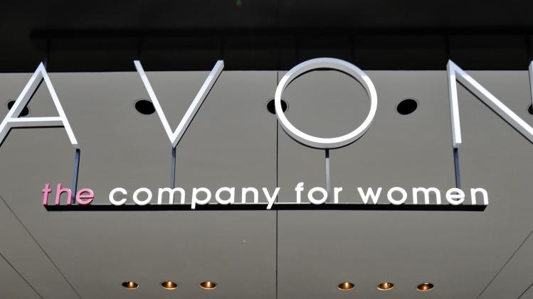 File photo of the Avon Products headquarters in midtown Manhattan area of New York