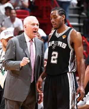 Leonard, Spurs roll to 111-92 victory over Heat