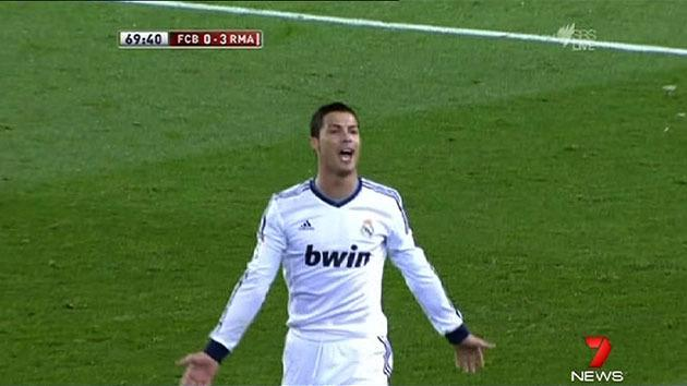 Ronaldo scores double in derby
