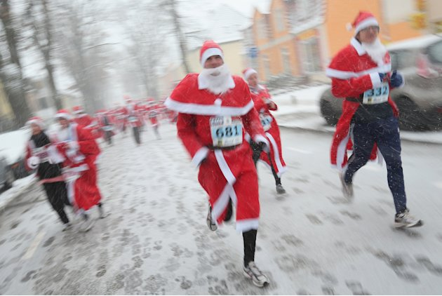 Annual Michendorf Santa Run