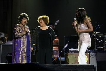 Ruth Brown , Mavis Staples and Natalie Cole in Sony Pictures Classics' Lightning in a Bottle