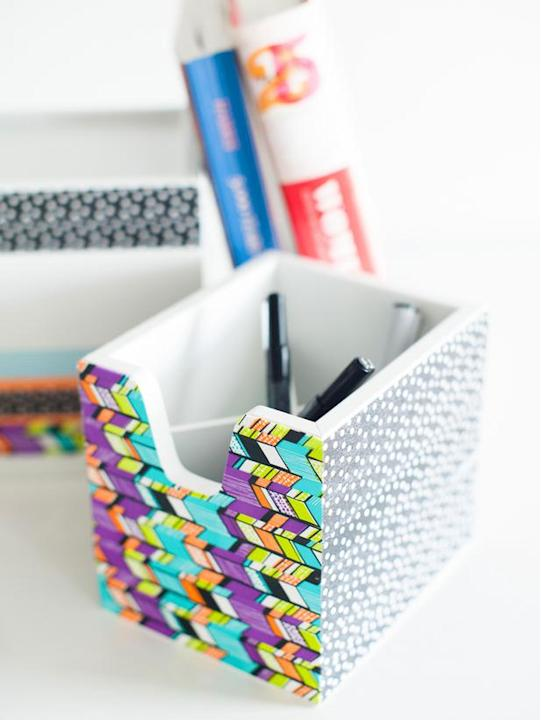 Create a Colorful Desk