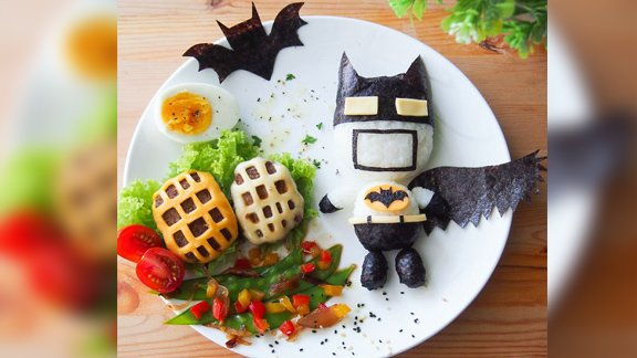 Creative Mom Makes Amazing Food Art