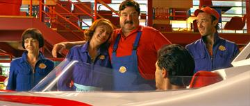 Christina Ricci , Susan Sarandon , John Goodman and Kick Gurry in Warner Bros. Pictures' Speed Racer